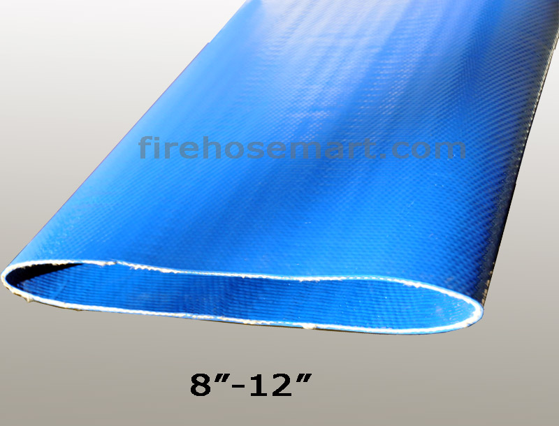 "10""x660ft Polyurethane-covered layflat frac water transfer hose"