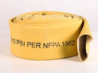 "3""x50' #450 Yellow Rubber Covered Hoses Bulk Hose"