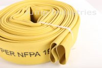 "1 1/2""x50' #500 Yellow Rubber Covered Hoses"