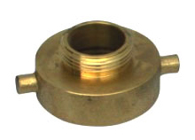 Threaded Pinlug Brass Reducer Female x Male