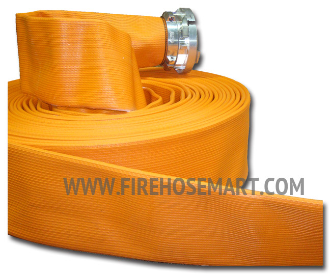 4' Nitrile Rubber Covered Supply Hose